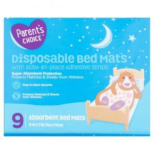 Parent Choice Disposable Bed Mats