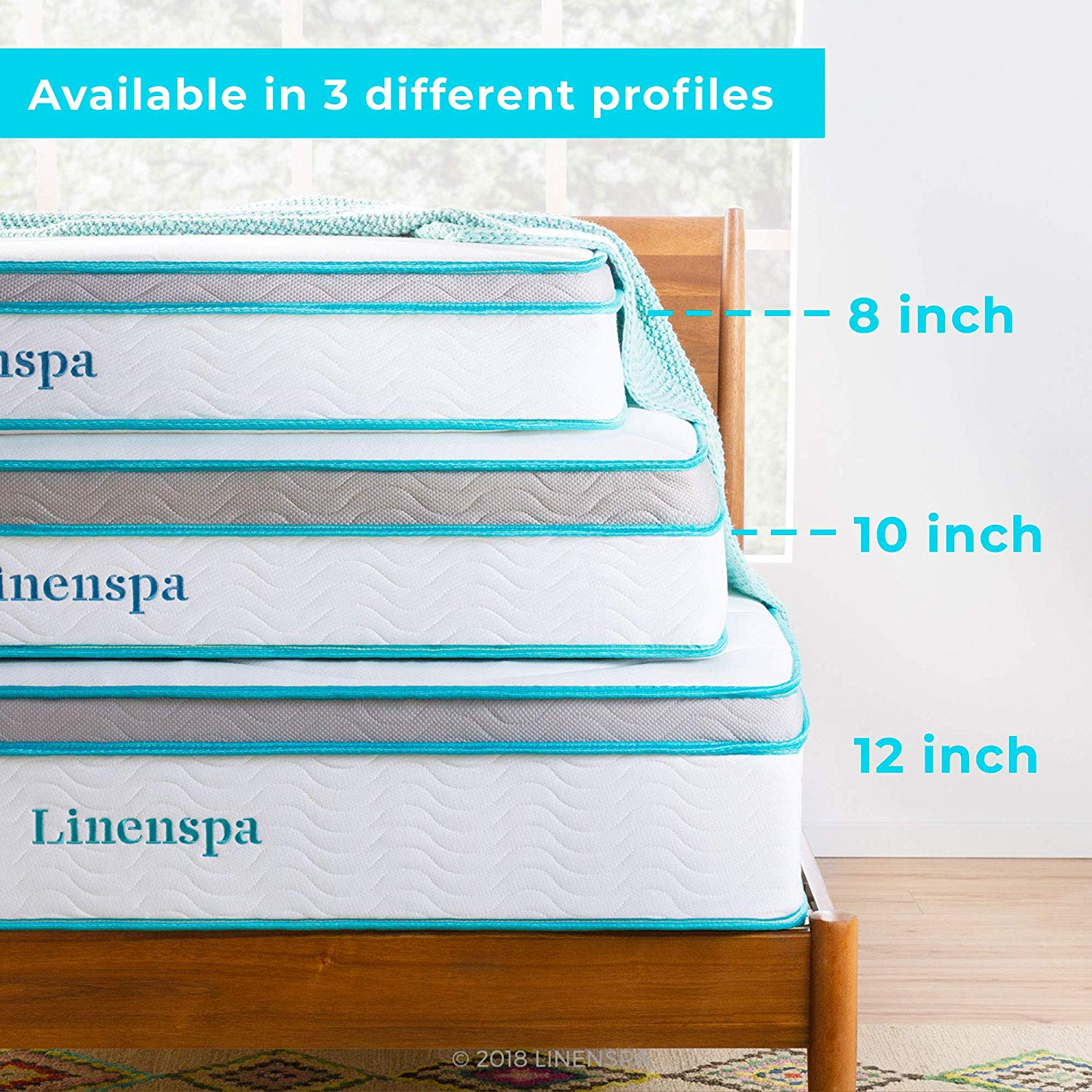 Linenspa twin mattress