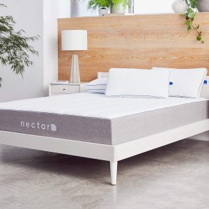 Nectar mattress for platform bed with slats