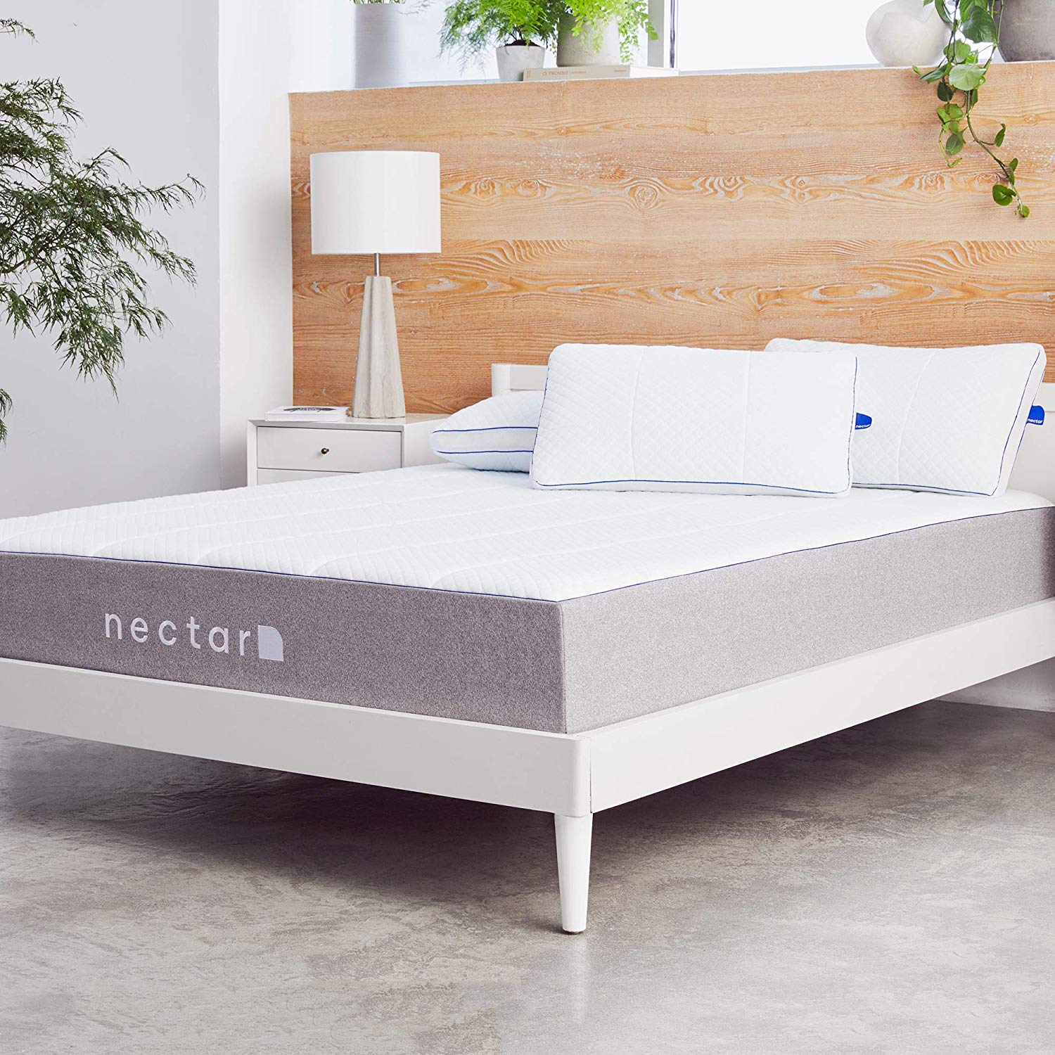 Nectar mattress for platform bed with slats