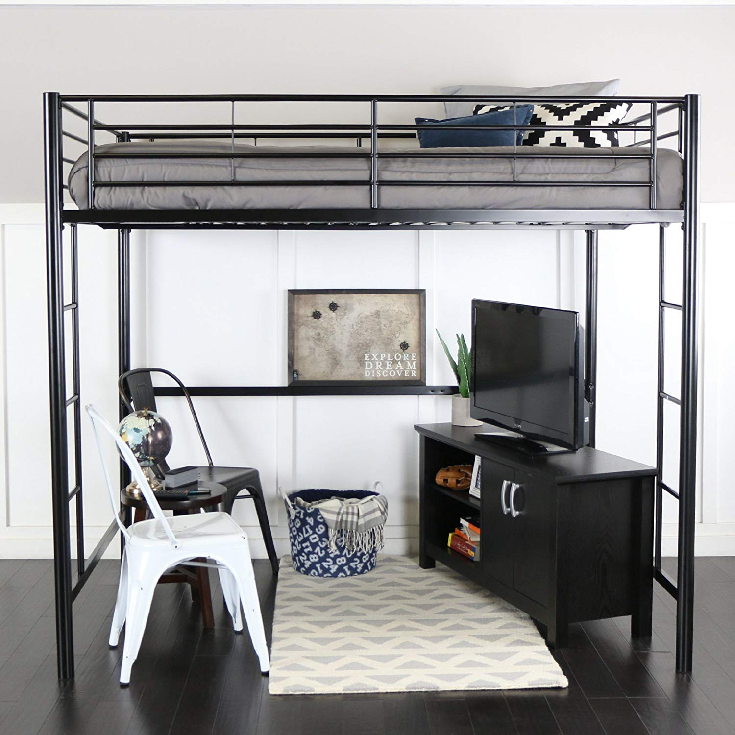 Loft Bed that fits over a queen size bed