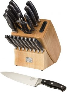 Chicago Cutlery18-Piece Knife Set with Knife Sharpener