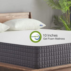 Sweetnight 10 Inch Full-Size Mattress