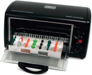 AMACO Countertop CraftClay Oven, Black