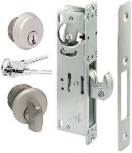 Aluminum Pacific Mortise Lock