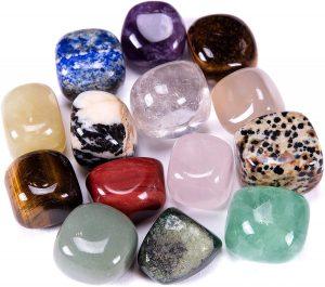 Bingcute Brazilian Tumbled Polished Natural Stones (Most Unique Decor
