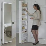 Cabidor-Deluxe-Mirrored-Behind-The-Door-Adjustable-Medicine-Bathroom-Kitchen-Storage-Cabinet