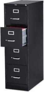 Lorell 4-Drawer Vertical Filing Cabinet