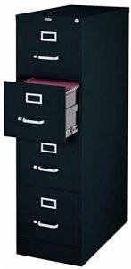 Scranton & Co 4 Drawer Deep Letter File Cabinet