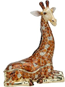 Sparkling Collectibles Large Crystal Giraffe Figurine (Largest Figurine)