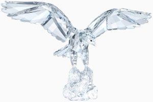 Swarovski Crystal Eagle Figurine