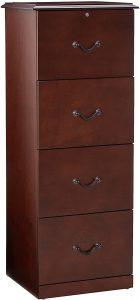 Z-Line Designs 4-Drawer Vertical File Cabinet