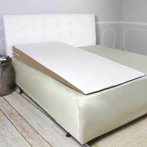 Avana bed wedge pillow with bamboo cover