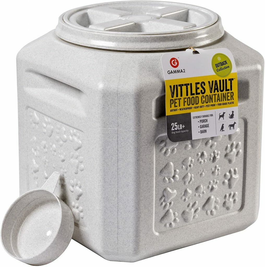 Gamma2 vittles vault stackable airtight container