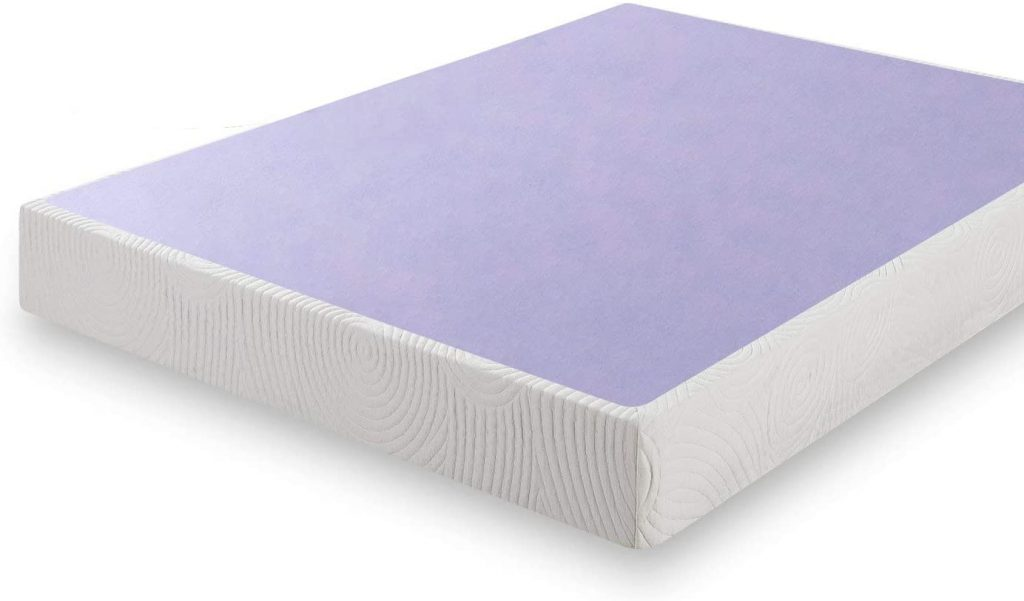 Wooden box spring for king size mattress