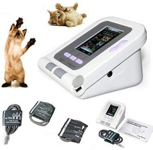 CONTEC08A-VET Digital Veterinary Blood Pressure Monitor NIBP Cuff, Dog/Cat/Pets (CONTEC08A-VET with 3 Cuffs)